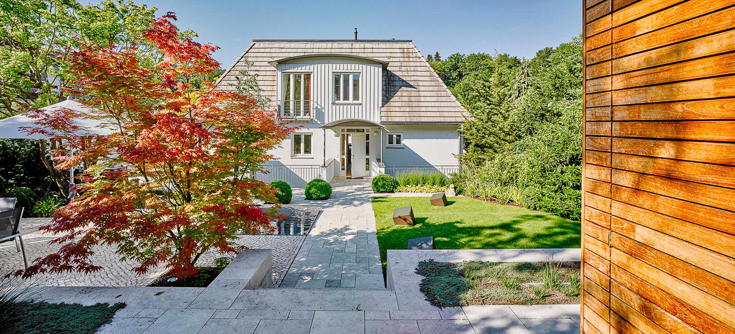 Privatgarten Haus D in Stuttgart