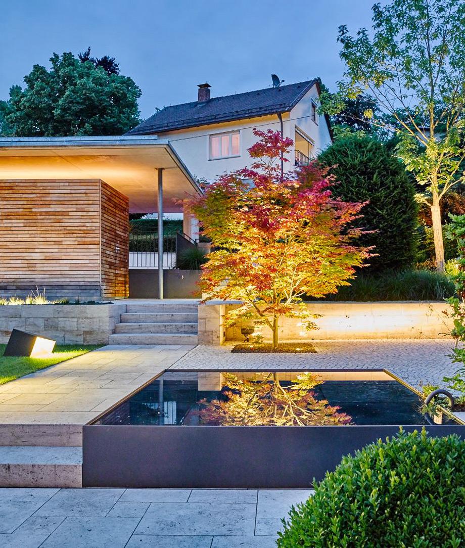 Neugestaltung Gartenanlage